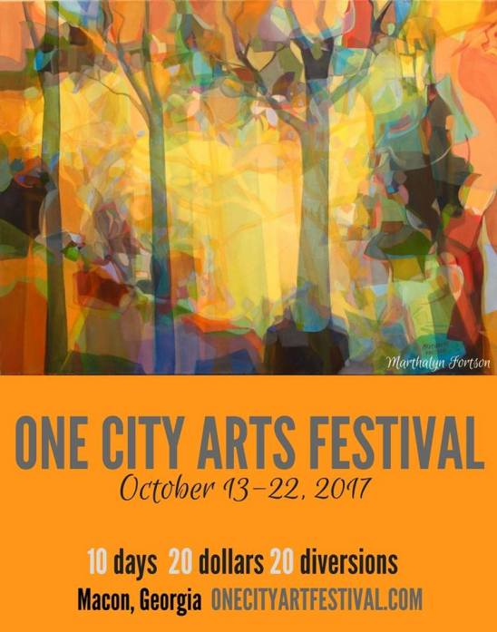 One City Arts 2017 poster